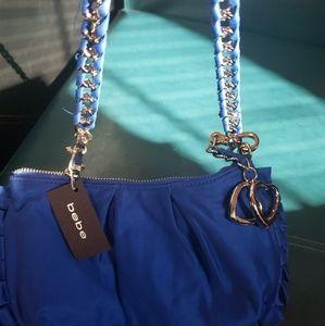 BEBE Royal Blue Shoulder Bag
